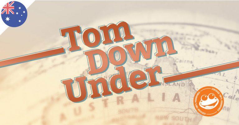 Le blog Tom Down Under sur French Radar