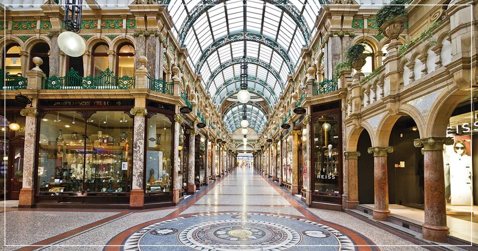 Galerie marchande à Leeds : Victoria Quarter