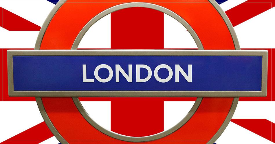 Ville de Londres sur le logo du métro