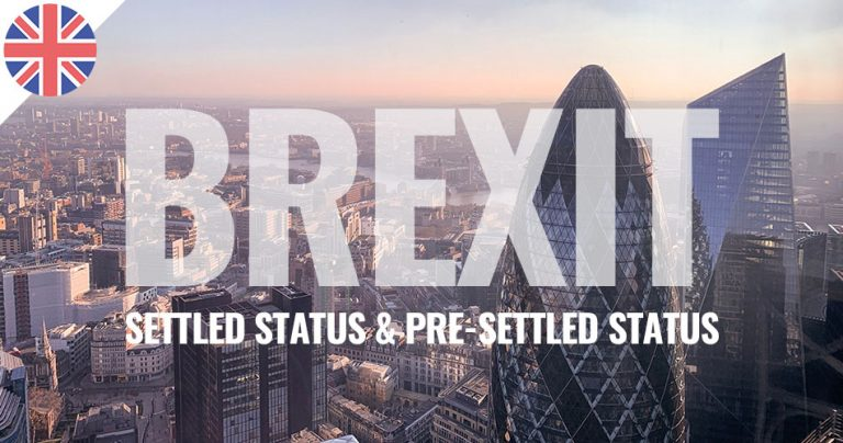 Vue aérienne de la ville de Londres lors du BREXIT