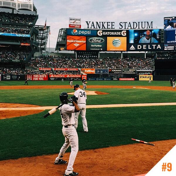 Le stade : Yankee Stadium à New York (USA)