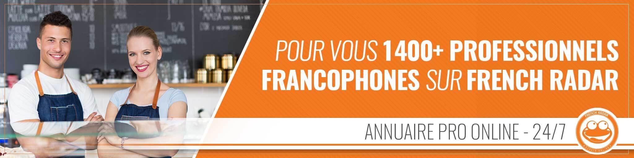French Radar : Annuaire Pro
