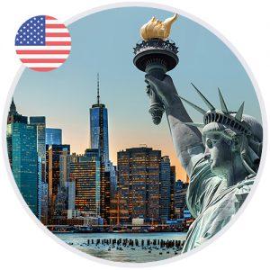 Statue de la liberté à New York aux USA