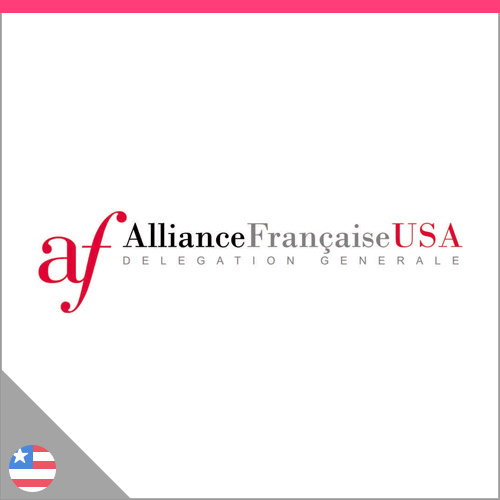 Logo Alliance française USA