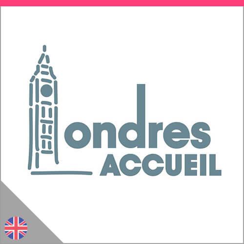 Logo Londres Accueil