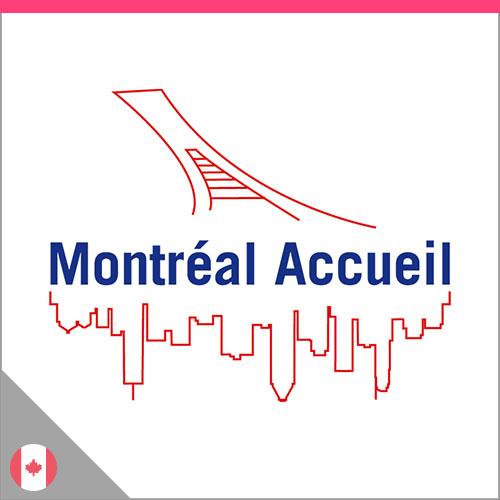 logo Montréal Accueil