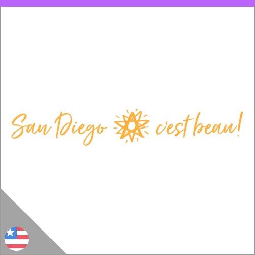 Logo San Diego c'est beau