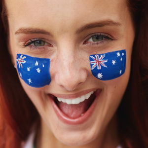 Jeune australienne