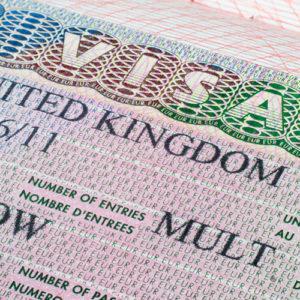 Visa au Royaume-Uni