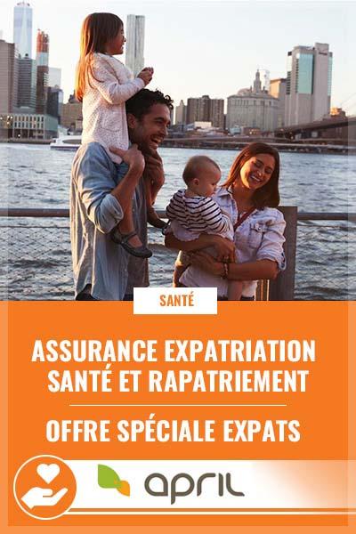 APRIL, l'assurance internationale des expatriés