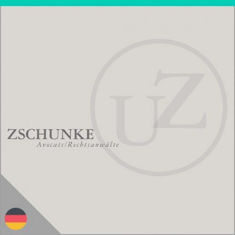 Logo du cabinet d'avocats Zschunke