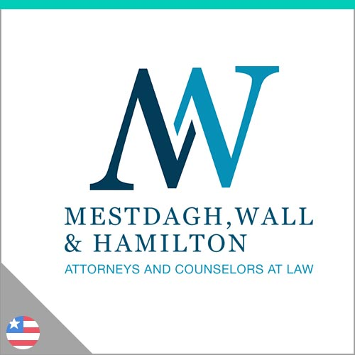 Logo Mestdagh, Wall & Hamilton
