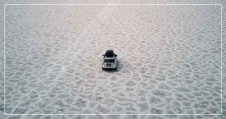 Le Bonneville Salt Flats